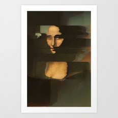Mona Glitcha Art Print