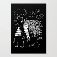 I'm Feeling Weird Canvas Print