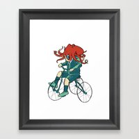 Little Cthulhu Framed Art Print