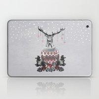 Christmas Deer (by Mariam & Nika) Laptop & iPad Skin