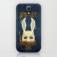 Galaxy S4 Cases featuring Rapture Masquerade Ball 1959 by sgrunfo