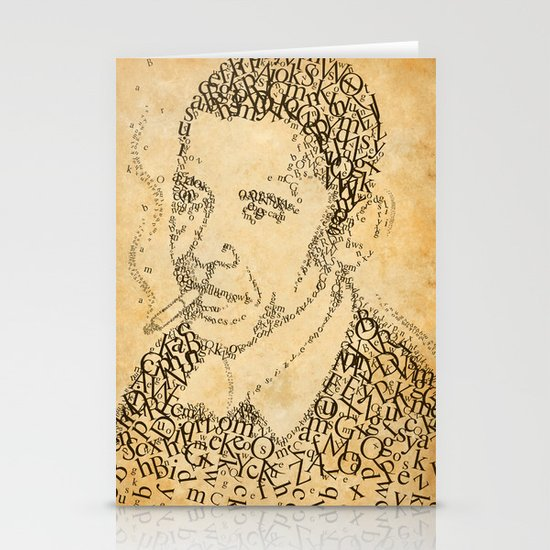 obama in the font of times 02 Stationery Card
