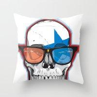 The 3D Star Punk Throw Pillow