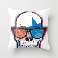 The 3D Star Punk Throw Pillow