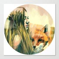 V! Canvas Print