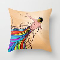 Fly C'mon! Throw Pillow