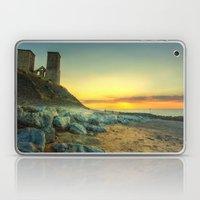 Reculver Towers At Sunset Laptop & iPad Skin