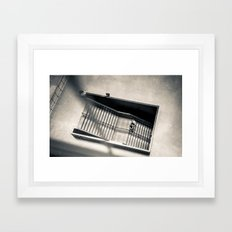 Going Nowhere Framed Art Print