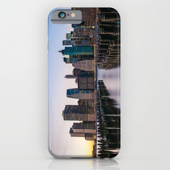 Sunset over Manhattan iPhone & iPod Case