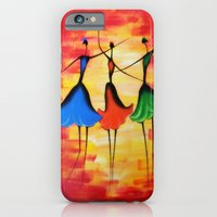 iPhone Cases featuring 3 Girls by Souls & Colors