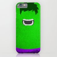 iPhone Cases featuring Hulk by theLinC