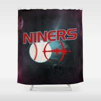 Niners Shower Curtain
