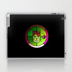 Stained Glass Cat Laptop & iPad Skin
