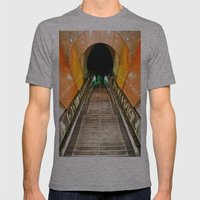 NOHO Metro Mens Fitted Tee Athletic Grey SMALL