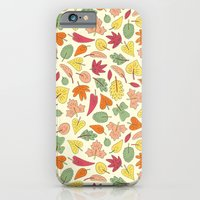 iPhone & iPod Case featuring Leaf Pattern by Stephanie Marie Steinhauer
