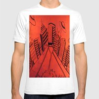 Crayliens Mens Fitted Tee White SMALL
