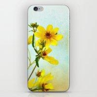 Yellow Flowers 1 iPhone & iPod Skin