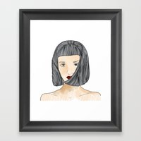face II Framed Art Print
