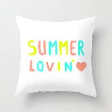 Summer Lovin' Throw Pillow