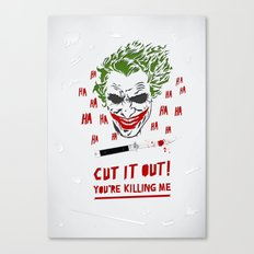 Cut It Out - Humor Canvas Print