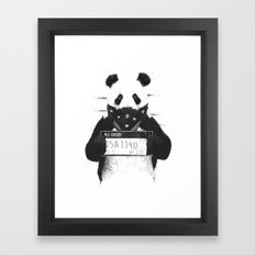 Bad Panda Framed Art Print