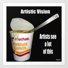 Artists Vision Art Print