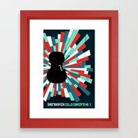 Shostakovich Cello Conce… Framed Art Print