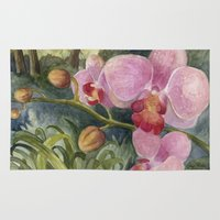 Orchid Beauty Rug