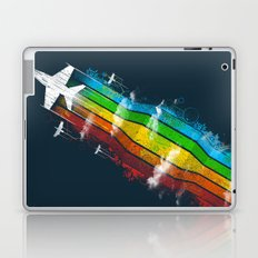Colored Flight Laptop & iPad Skin