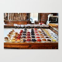 Breakfast Tarts Canvas Print