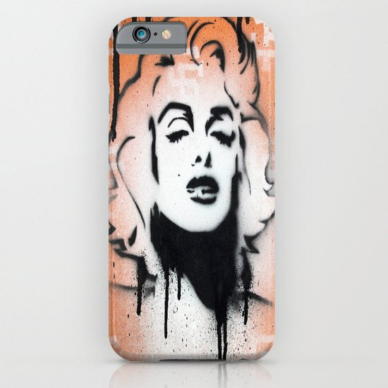 SF Giants x Marilyn Monroe by Adam Valentino  iPhone & iPod Case