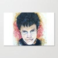 Darkened Canvas Print