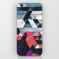 dythyr dysystyr iPhone & iPod Skin