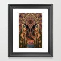 40 Days Framed Art Print