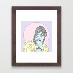 Beach Goth Framed Art Print