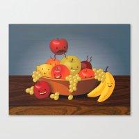 Fruit Bowl Canvas Print