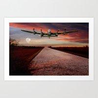 V12 Thunder in the Skys Art Print