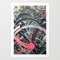 Wheels Art Print