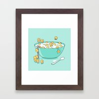 Early Morning Party Framed Art Print