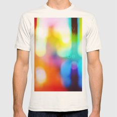 Be Yourself. Mens Fitted Tee Natural SMALL