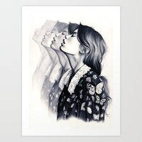 How To Disappear Art Print