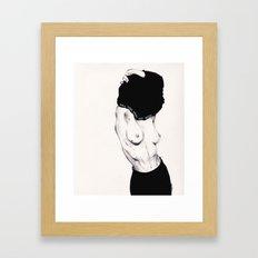 Pull Your Shirt Off Bitc… Framed Art Print
