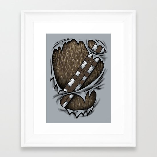 Co-Pilot Uniform Framed Art Print