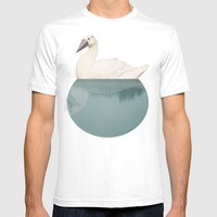 Goose Mens Fitted Tee White SMALL