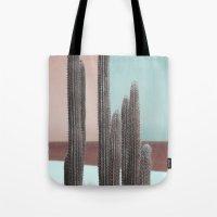 Cactus Colour Block Tote Bag