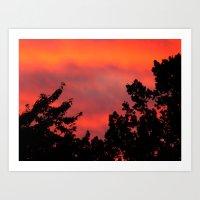 Another Sunset Art Print