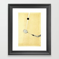 Tennis Framed Art Print