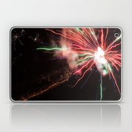 Spectacular Red And Gree… Laptop & iPad Skin