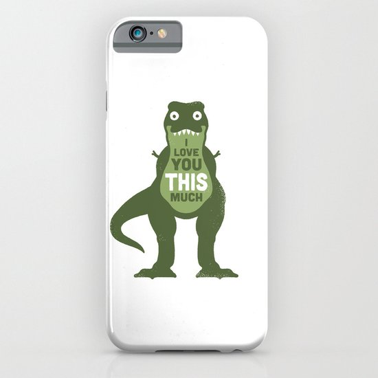 Amourosaurus iPhone & iPod Case
