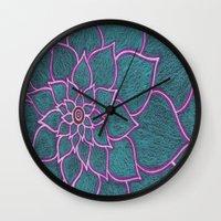 Bold 6 Wall Clock